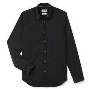 Lacoste Slim Fit Stretch Cotton Poplin Shirt
